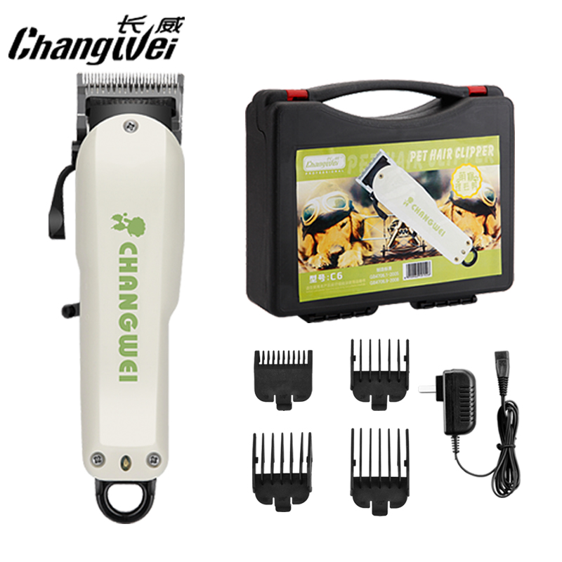 Changwei dog grooming hair trimmer pet hair clipper High power motor Chrome plated fine steel blade dog hair trimmer Hairdress