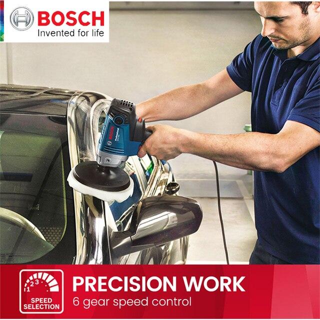 Bosch Polishing Machine GPO 950 DA Car Wax Polisher Electric 220V 50Hz Input Power 950w  EMC Backing Plate 180mm Polishing Pad 4