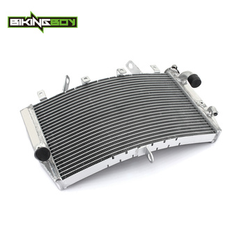 BIKINGBOY Engine Radiator  Aluminium Alloy Core Water Cooler Cooling fit for YAMAHA YZF R1 2007 2008 YZF-R1