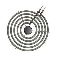 Нагревательный элемент для поверхностной горелки, 2100 Вт, 230 В, 8 Дюймов, 5 оборотов, нагревательная трубка в форме спирали для оладий с плоским задним размером штатива