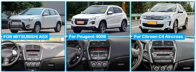 Lecteur Radio de Navigation GPS Android 10.0 pour Mitsuishi Pajero 2016-2018 lecteur vidéo stéréo Headuint gratuit intégré Carplay dsp