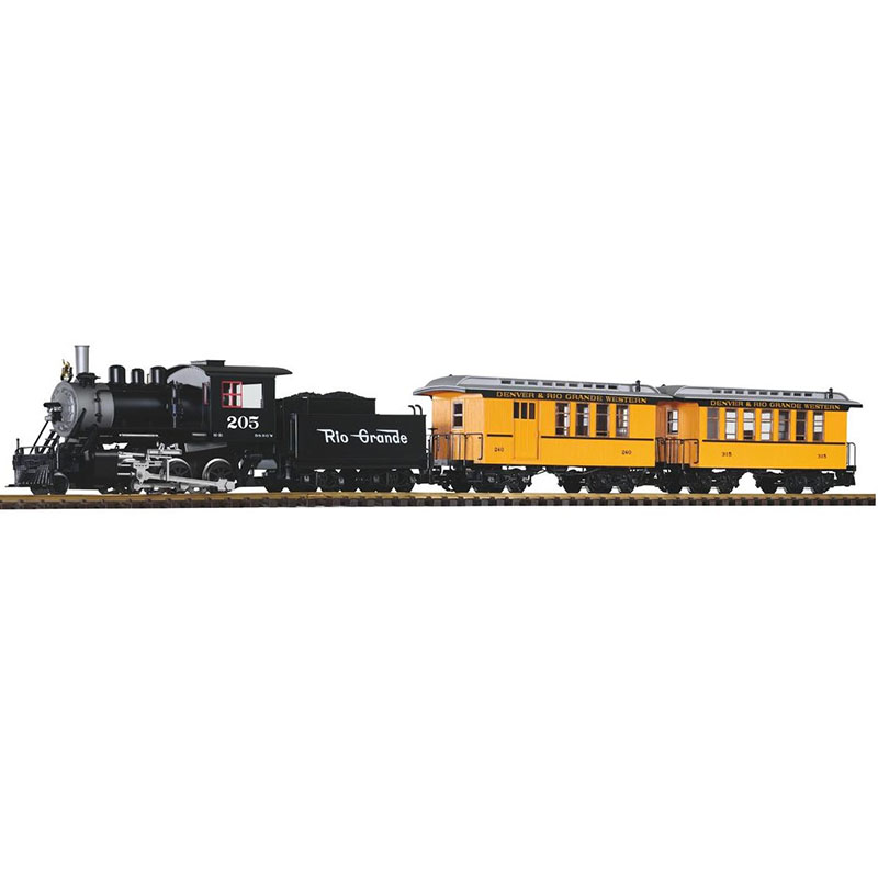 German Remote-controlled Train 37111 G-type Junior Set Analog Sound And Smoke-effect Version (steam Head And Passenger Car)