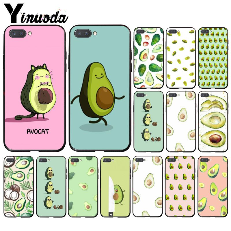 Yinuoda Avocado Aesthetic Gteen Fruit Food Phone Case For Huawei Honor 8A 8X 9 10 20 Lite 7A 5A 7C 10i 20i