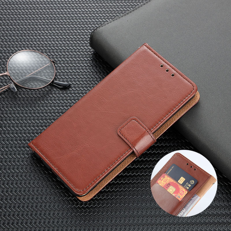 Flip Wallet Case Voor Xiaomi Redmi 4A 4X 5 Plus 5A 6 6A 7A 8 8A Note 4/4X 5A 5 Pro 6 7 8 9 Pro W/ Card Slots Stand Cover