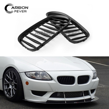 E85 Replacement Front Bumper Kidney Grille Mesh For BMW Z4 E85 E86 2-Door model 2003 - 2008 image