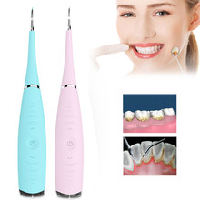 Electric Dental Scaler Ultrasonic Teeth Cleanner Tartar Cleanning Tool Tooth Stain Cleaner Dental Calculus Remover