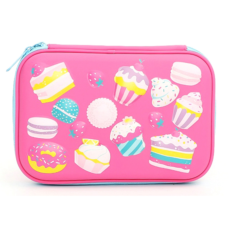 Cake Pencil Case Cute Pencil Case Large Capacity Pencil Box