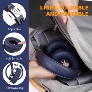Image 5 - Oneodio kablolu DJ kulaklık bas Stereo oyun kulaklığıı telefon bilgisayar için mikrofon ile stüdyo monitör kulaklık kayıt için