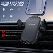 Universal titular do telefone do carro gravidade sensing preguiçoso clipe de telefone móvel fivela de saída de ar para carro compatível com a maioria dos smartphones