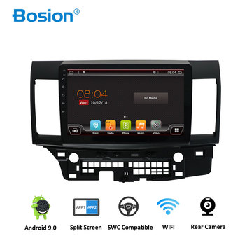 Bosion 2 Din Android 9.0 Car Multimedia Player For Mitsubishi Lancer EX EVO Lancer 10 2008-2016 10.1 inch car dvd gps navi radio