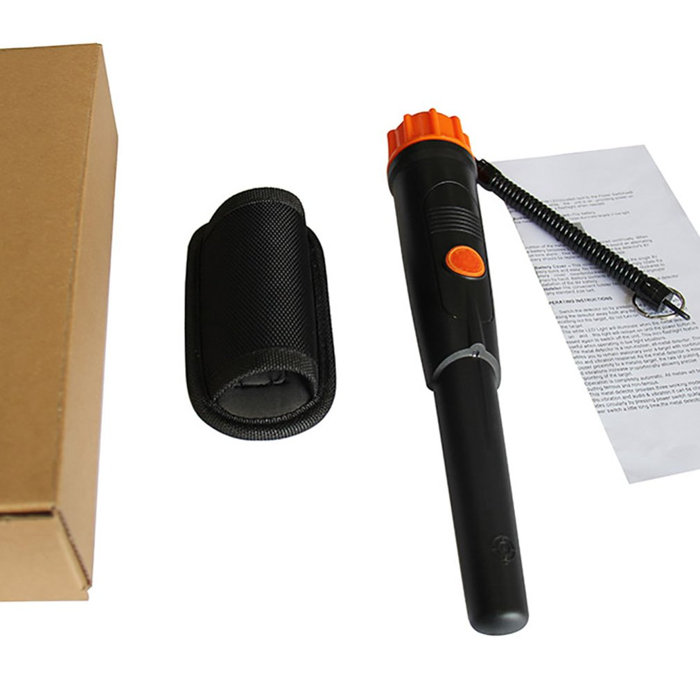Metal Handheld Detector Waterproof Head PointerPin Detector Underground Metal Detector Treasure Hunting Detector
