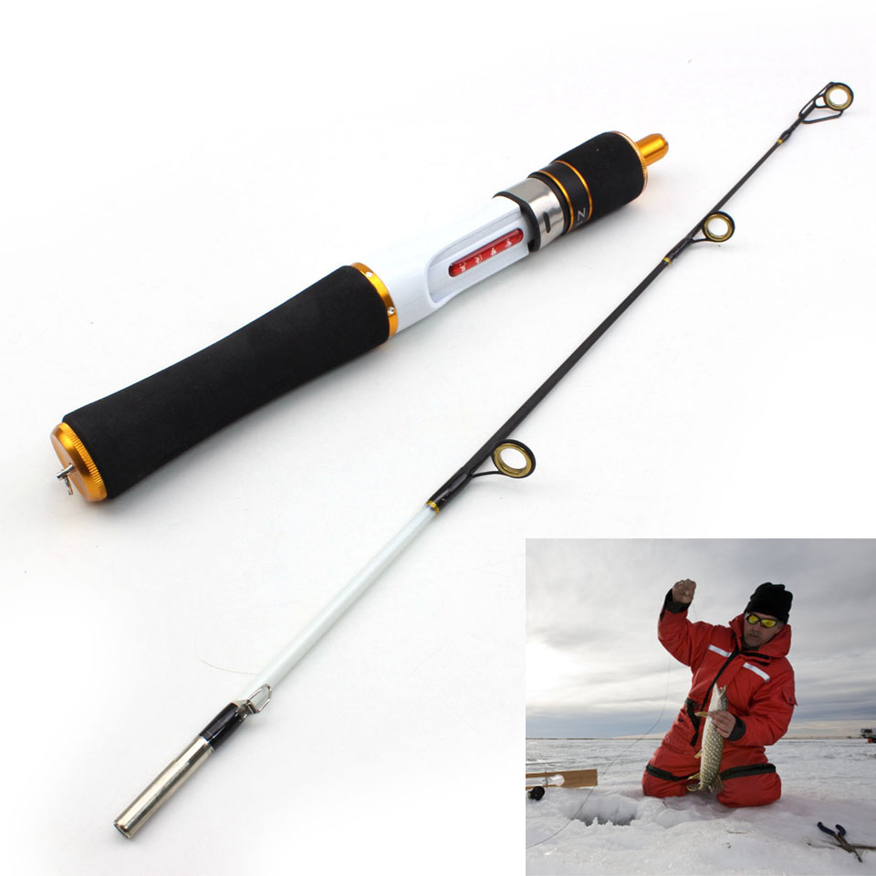 High Quality ice fishing rod carbon rod 58cm valve boat pole ice fishing rod fishing tackle Free Shipping|ice fishing rod|rod fishing|fishing rod - title=