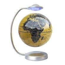 8-Inch netic Levitation Light Globe, Floating Head Light, Sphere Light, Press Light for Office Home EU Plug