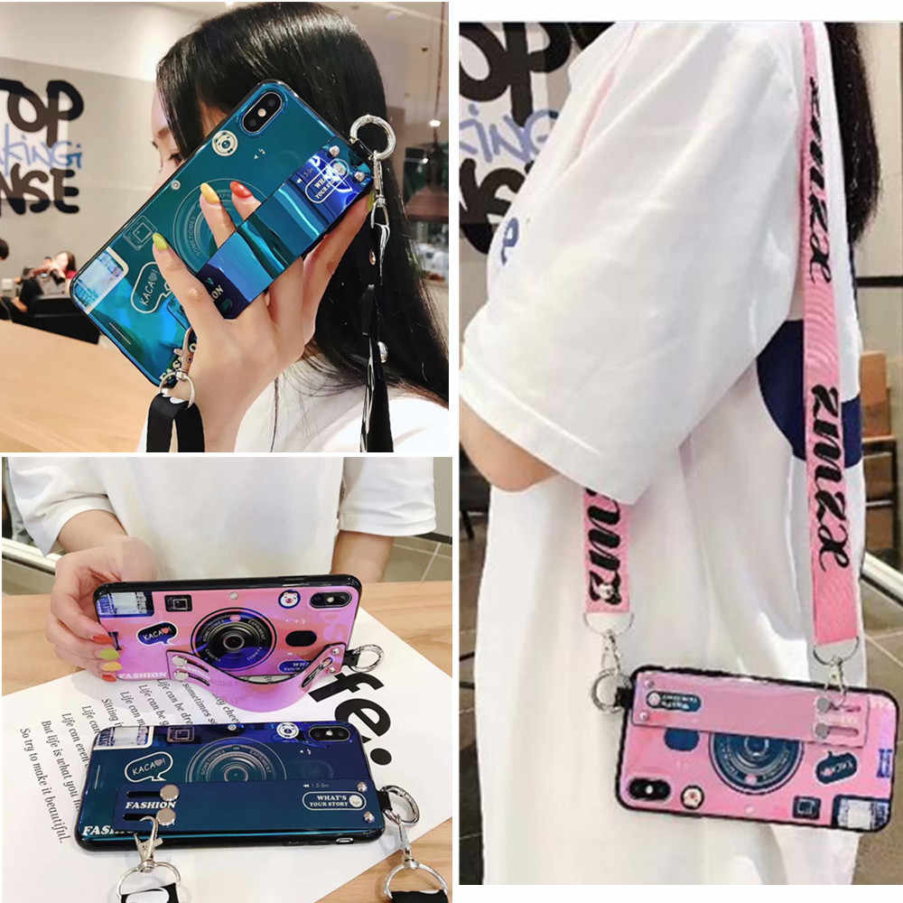 Camera strap tpu case voor samsung galaxy A70 50 80 90 40 30 20 10 s10 s8 s9 plus s10e note 8 9 10 pro A7 A8 A6 J4 J6 plus 2018