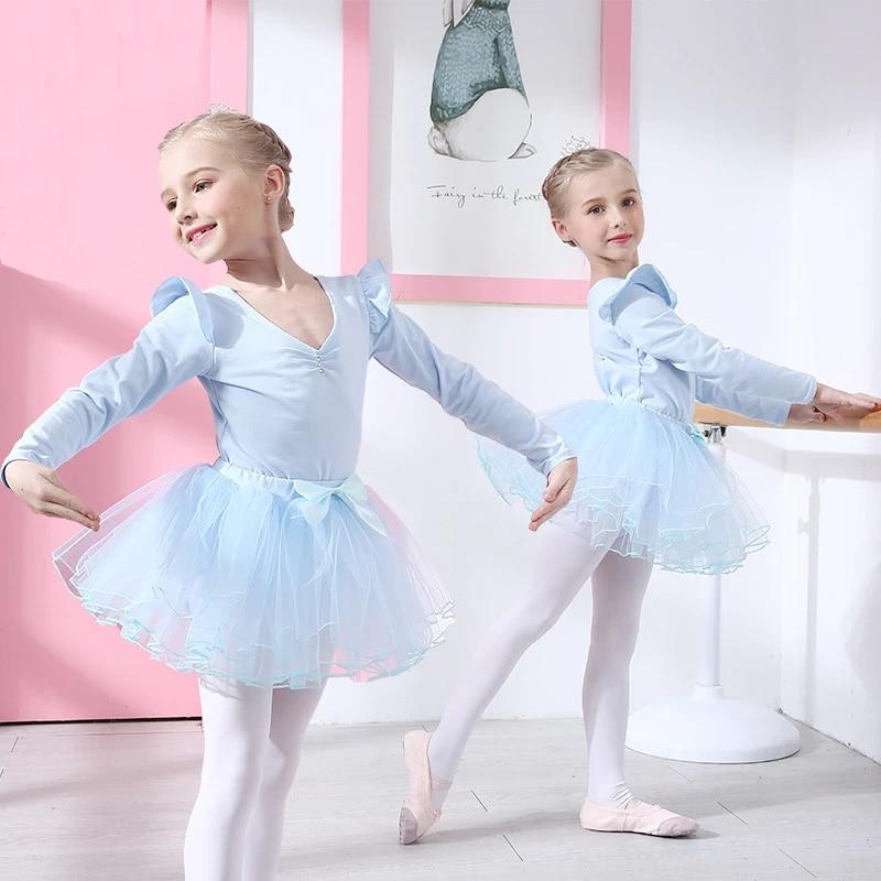 Children Kids Girl Ballet Dancing Skirt Tutu Tulle Dress Dance Leotard Ballerina
