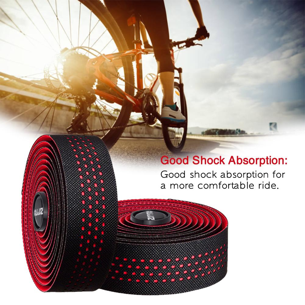 Anti Slip Silicone Handlebar Tape Road Bike Three Dimensional Hive Comb Belts
