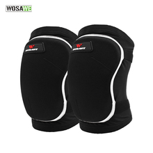 WOSAWE Skiing Knee Protector Double Thicken EVA Snowboard Protective Gear Pads For Goalkeeper Roller Skating Volleyball