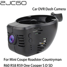 Car DVR Registrator Dash Cam Camera Wifi Digital Video Recorder for Mini Coupe Roadster Countryman R60 R58 R59 One Cooper S D SD sd dvr high resolution digital video recorder for fpv system