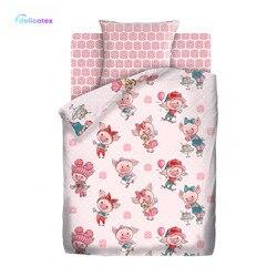 Bettwäsche Sets Delicatex 13072-1 + 16054-1 Hryushki Home Textil bettwäsche leinen Kissen Abdeckungen Bettbezug рillowcase baby stoßstangen sets für kinder Baumwolle