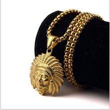 Популярное индийское ожерелье с подвеской chieftain цепочка