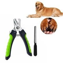 Кусачки для ногтей для домашних животных пилка для ногтей для собак кошек триммер для стрижки лап ножницы инструмент для ухода за маленькими, средними и крупными пород