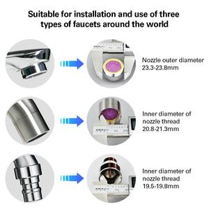 Image 5 - AZDENT New Portable Oral Irrigator Water Faucet Dental Flosser Removeable Floss Irrigation Brush Head Sprinkler Box 2 Jet Tips