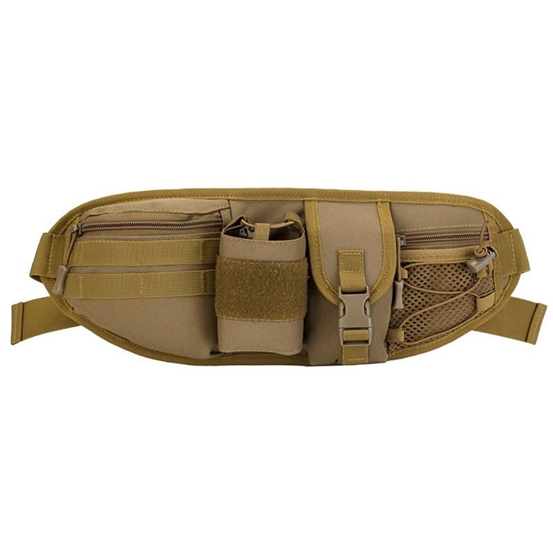 Waist Bag Pouch Belt Loops Bags Men'S Shoulder Bag Casual Canvas Waist Pack