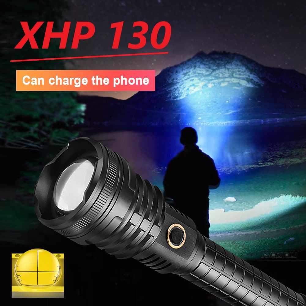 XHP70 XHP90 Blendung Taschenlampe licht Zoom Wasserdicht Outdoor Wiederaufladbar