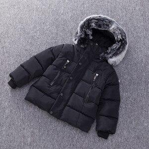 Image 2 - แจ็คเก็ตเด็กแฟชั่นฤดูใบไม้ร่วงฤดูหนาวเสื้อแจ็คเก็ตสำหรับเด็กWarmหนาHoodedเด็กOuterwear Coatเด็กวัยหัดเดินเสื้อผ้า