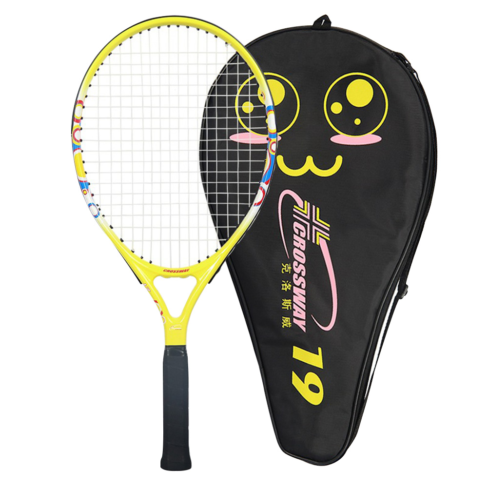 Ultra Light Gift Kids Play Handheld Child Tennis Racket Set Carbon Bat Beat Racquet Toddler Outdoor Grip Sports Accessories
