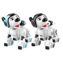 Robot Dog Electronic Pet Intelligent Dog Robot Toy 2.4G Smart Wireless Talking Remote Control Electronic Pet Kid Birthday Gift(China)