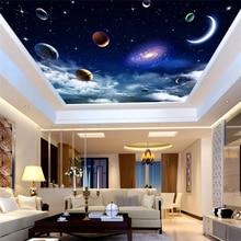 купить Custom wallpaper 3d mural dream starry sky background living room bedroom ceiling wallpaper restaurant decoration painting wallpaper дешево