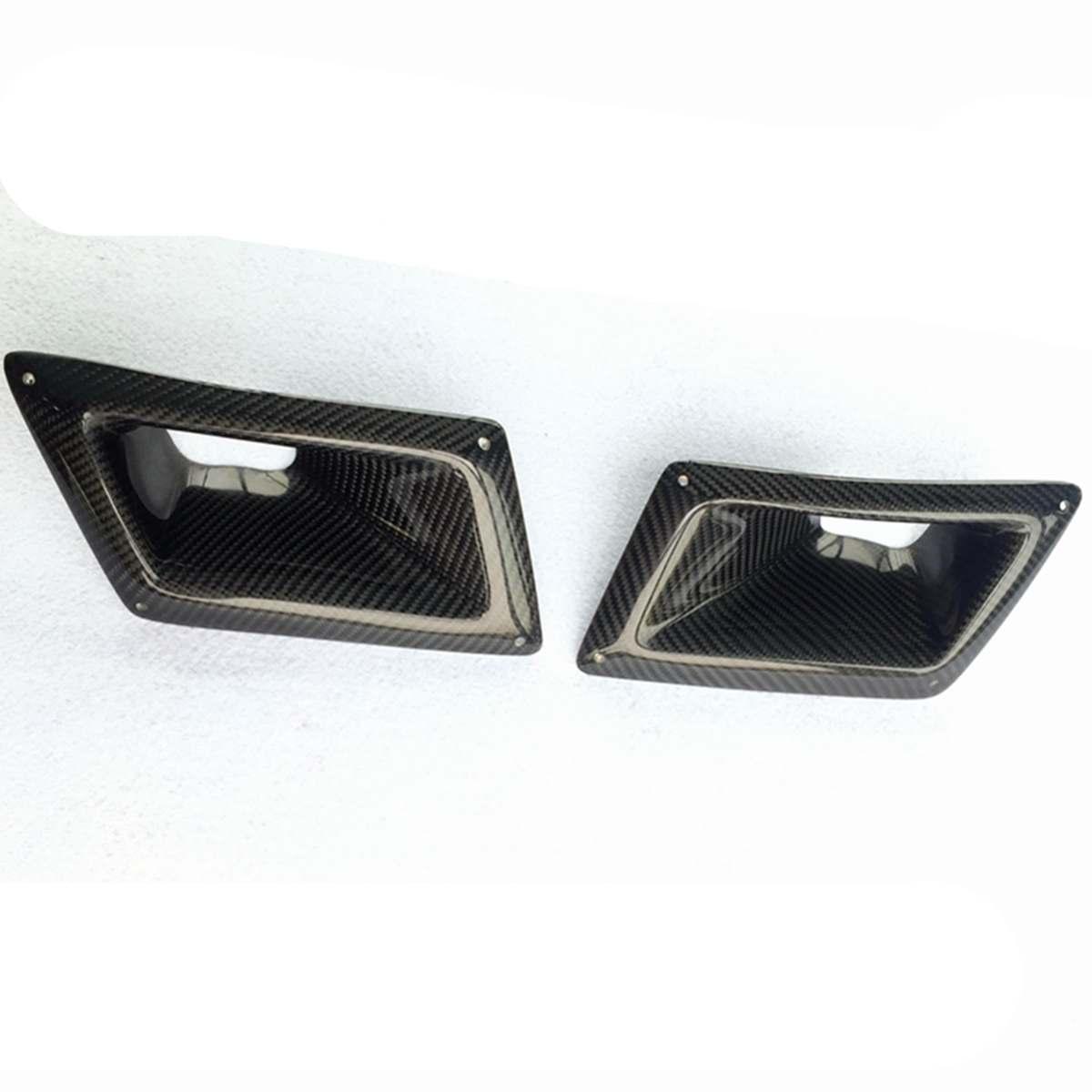 For Nissan 350Z Z33 2003-09 Real Carbon Fiber Air Vent Intake Duct Left Side