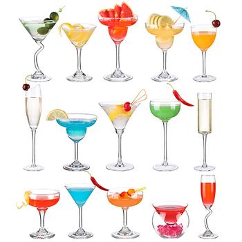 Koktajl szklany koktajl mrożony kryształ wino piwo sok whisky Boron Martini wino kubek barman specjalny kubek do picia wesele tanie i dobre opinie ROUND Ce ue Szkło Koktajl szkła Ekologiczne HKIT3138 Cocktail Glass Beer Juice Whiskey Boron Martini Wine bar Night Club