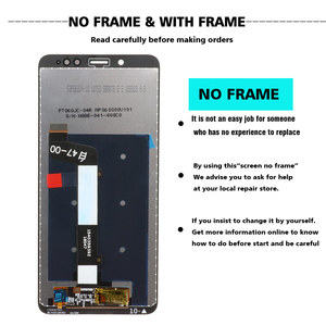 Image 2 - Original LCD For Xiaomi Redmi Note 5 Pro Prime LCD Display Touch Screen With Frame for Xiaomi Redmi Note 5 Note5 Pro LCD Display