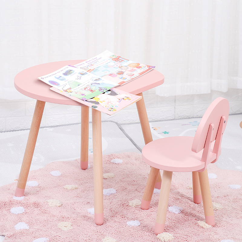 Children's Desks And Chairs Game Writing Combination Solid Wood Kids Table And Chair Study Table Modern Simplicity Kids Desk