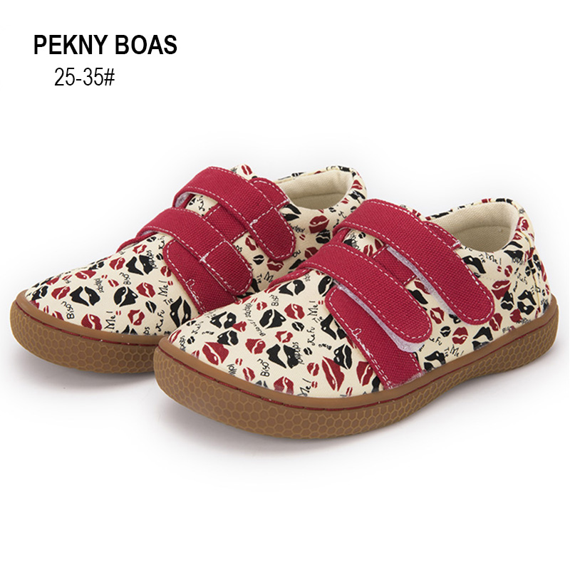 Pekny Bosa Kids Shoes Summer Breathable Canvas Children Sneakers Girls Sport Shoes Boys Casual Flat Shoes Soft-soles Bigger Size