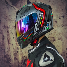 送料無料 JIEKAI 310 フルヘルメット moto rcycle ヘルメット dotcapacete クロスカントリーダブルミラーヘルメット casco moto クロスヘルメット