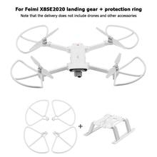 Carrello di atterraggio gamba protezione del piede protezioni dellelica gabbia del paraurti pacchetto leggero forniture portatili per cielo per FIMI X8 SE 2020