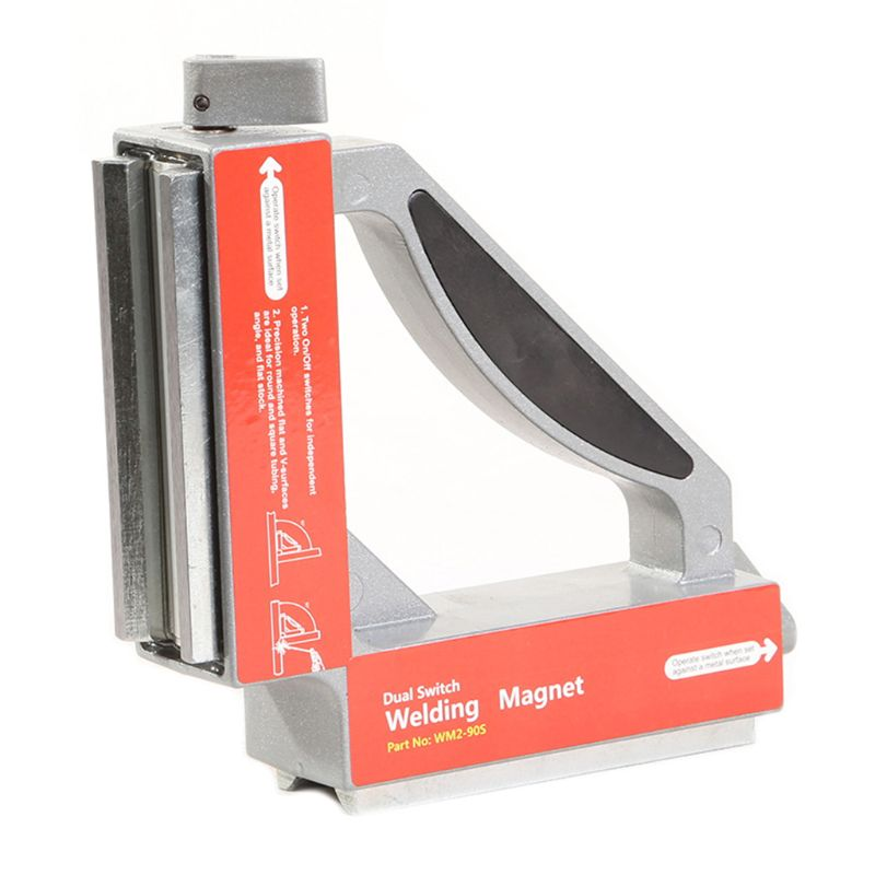 WM2-90S Dual Switch 90    Square Magnet Squares On Off Strong Magnetic Holder Clamp