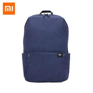Original Xiaomi Mi Backpack 20L Simple Waterproof Bag 15.6 inch Laptop Backpack for Women Men LightWeight Travel Bag Schoolbag