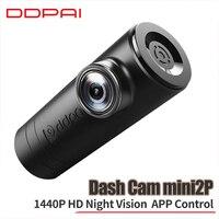 كاميرا Mijia DDPai Mini2P من شاومي كاميرا مدمجة ذات قدرة فائقة واجهة طاقة للجسم مع كاميرا أمامية وخلفية