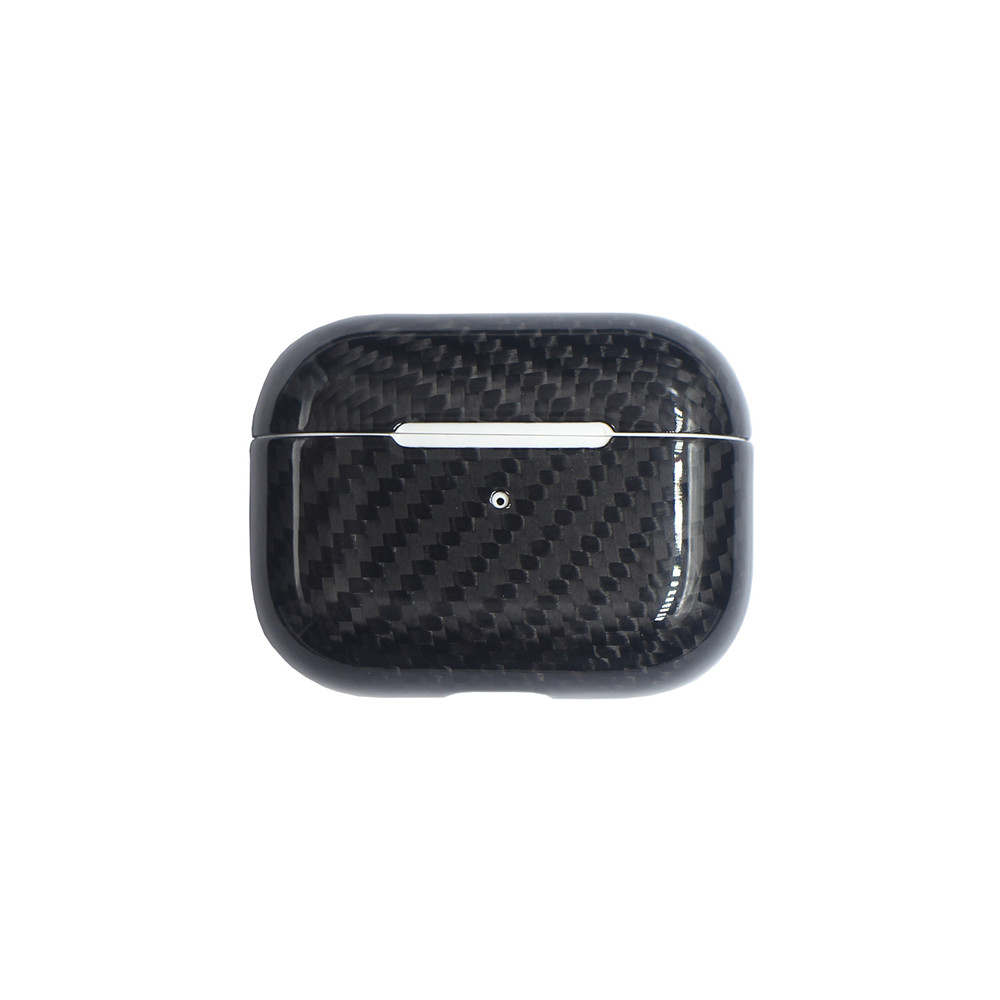 Real Carbon Fiber Case For AirPods 2 for AirPods Pro Wireless Earphone Charging Case Carbon Fiber LED Cover Accessories