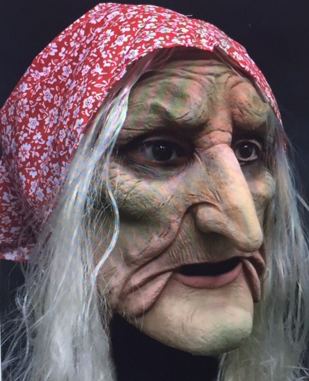 New Real Mask Old man Scary Mask Horror Halloween Masks Vampire <font><b>terror</b></font> realista realistic maska Party Evil witch sorceress image