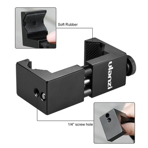 Image 3 - Ulanzi Metal Smartphone Clip Holder Frame Case Bracket Mount for iPhone for Huawei Samsung Portrait Outdoor Video Photography