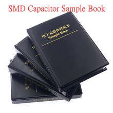 Condensador de Chip SMT, Kit surtido de libro de muestra, 0402, 0603, 0805, 1206 SMD
