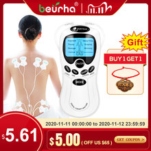 8 models EMS Electric herald Tens Machine Acupuncture Body Massage Digital Therapy Massager Muscle Stimulator Electrostimulator
