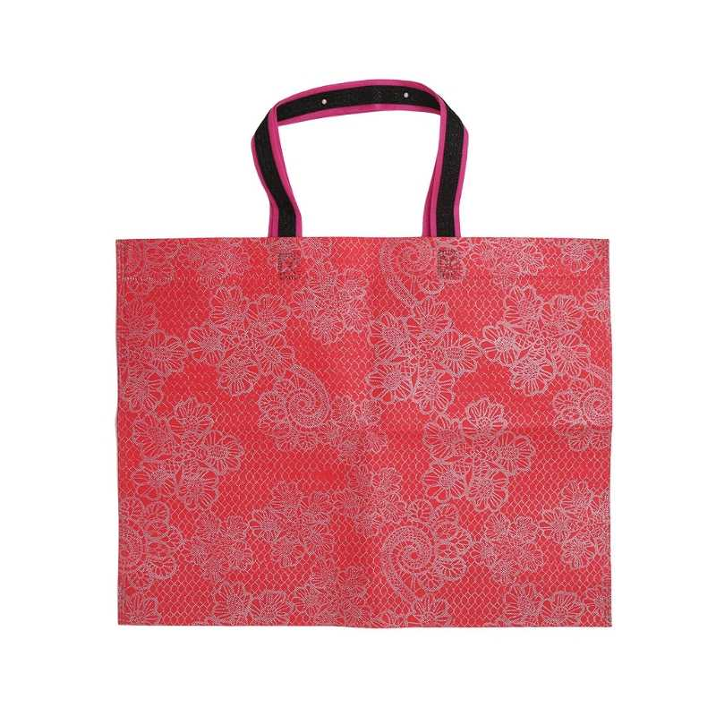 المحمولة طوي حقيبة تسوق قدرة كبيرة للماء سميكة يد Ripstop