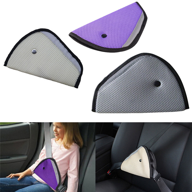 Harness Strap Car Child Safety Cover Seat Belts Triangle Thickening Holder