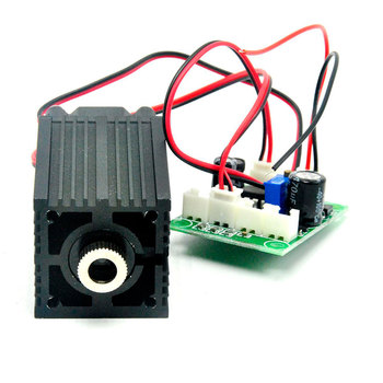цена на 532nm 80mw-100mW Dot Positioning Green Laser Diode Module Focusable 33*50mm Module 12V Driver TTL